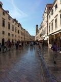 miasto Dubrovnik stary Fotografia Stock