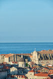 miasto Dubrovnik stary obraz royalty free