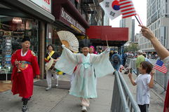 miasto dzień koreański nowy York zdjęcia royalty free