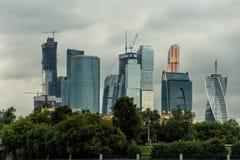 miasto dzień Kreml Moscow zewnętrznego Obrazy Stock