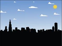 miasto dzień ilustracja wektor