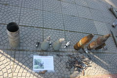 Miasto dzień w Luhansk Obrazy Royalty Free