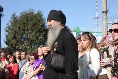 Miasto dzień w Luhansk Zdjęcia Royalty Free