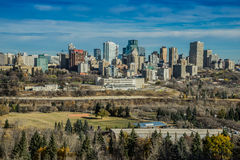 Miasto Edmonton, Październik 2014 Obraz Stock
