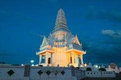 Miasto filar przy Kantharalak w nocy Obrazy Royalty Free