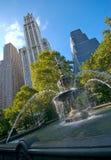 miasto fontanny sali nowego jorku zdjęcia royalty free