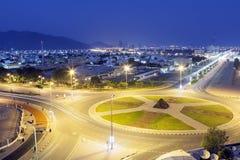 Miasto Fujairah, UAE Zdjęcia Royalty Free