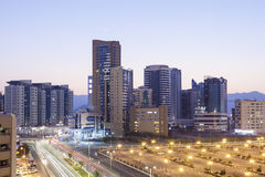 Miasto Fujairah, UAE Obrazy Stock