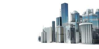 miasto futurystyczny ilustracja wektor