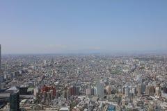 Miasto głąbik przy Tokyo przy Japan fotografia royalty free