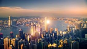 Miasto głąbika budynków sceny Miastowy pojęcie obrazy stock