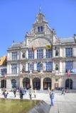 Miasto Ghent miejski krajobrazu Obrazy Stock