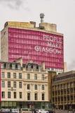 Miasto Glasgow szkoła wyższa Obrazy Stock