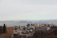 miasto Granada Zdjęcie Royalty Free