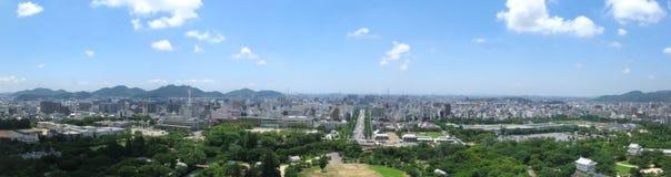 miasto Himeji zdjęcia royalty free