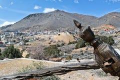 miasto historyczny górniczy Nevada zachodni stary grodzki Virginia Obraz Stock