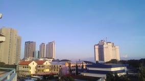 Miasto hotel Obrazy Stock