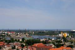 Miasto infrastruktura Fotografia Stock