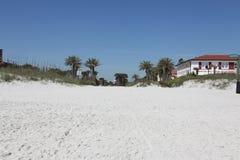 Miasto Jacksonville plaża w Florida fotografia stock