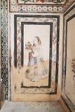 miasto Jaipur pałacu Zdjęcia Royalty Free