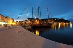 Miasto Jelsa na wyspie Hvar Zdjęcia Stock
