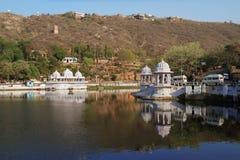 Miasto jeziora - Udaipur, Rajasthan, India fotografia stock