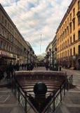 Miasto kędziorek zdjęcie royalty free
