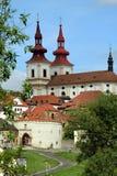 Miasto Kadaň, republika czech zdjęcia stock