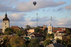 Miasto Kamenetz-Podolsk Ukraina Fotografia Royalty Free