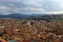 miasto katedralna Florence duomo Włoch naprawy Obraz Stock