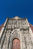 miasto katedralny metropolita Mexico Zdjęcie Stock