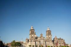 miasto katedralny metropolita Mexico Obrazy Stock