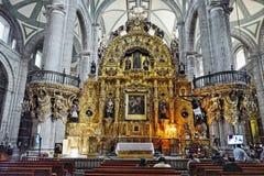 miasto katedralny metropolita Mexico Zdjęcia Royalty Free