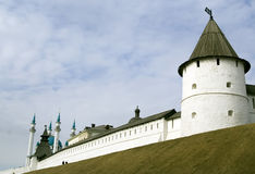 miasto Kazan Kremlin Zdjęcia Royalty Free