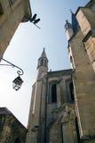 miasto kościoła Dijon Zdjęcia Royalty Free
