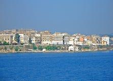 miasto Korfu Obrazy Royalty Free