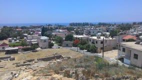 Miasto krajobraz wyspa Cypr Obraz Stock