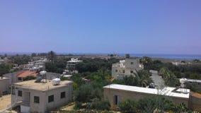 Miasto krajobraz wyspa Cypr Zdjęcia Royalty Free