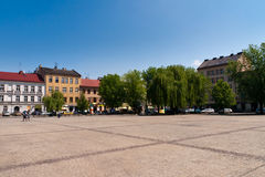miasto Krakow stary Obrazy Royalty Free
