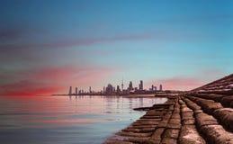 miasto Kuwait Zdjęcie Stock
