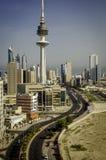 miasto Kuwait Zdjęcia Stock