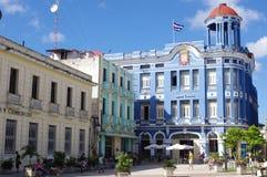 Miasto kwadrat w Camagà ¼ ey, Kuba Zdjęcia Royalty Free