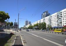Miasto Kyiv Ukraina Zdjęcia Stock