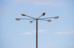 Miasto latarnia uliczna stara Obrazy Royalty Free