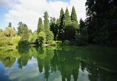miasto laurelhurst park Portland Oregon Fotografia Stock