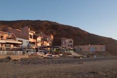 Miasto Legzira w Maroko obrazy stock
