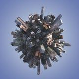 Miasto linia horyzontu Zdjęcie Stock