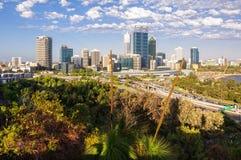 Miasto linia horyzontu - Perth Fotografia Royalty Free