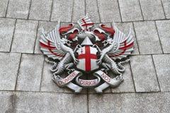 Miasto Londyński grzebień obrazy royalty free