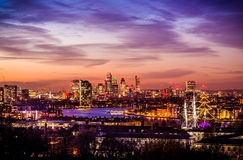 Miasto Londyn, Greenwich park Obrazy Royalty Free